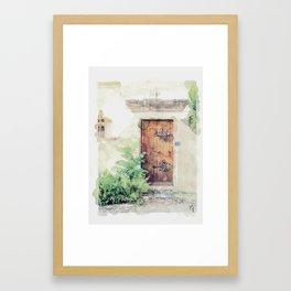 Door in Paris Framed Art Print
