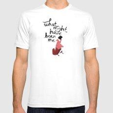 What Might Have Been Me Mens Fitted Tee White MEDIUM