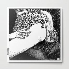 asc 665 - Les rendez-vous du crépuscule (Visitors in the twilight) #04 Metal Print