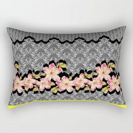 Azelea Border Rectangular Pillow