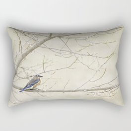 Eastern Bluebird Rectangular Pillow
