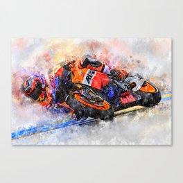 Casey Stoner Canvas Print