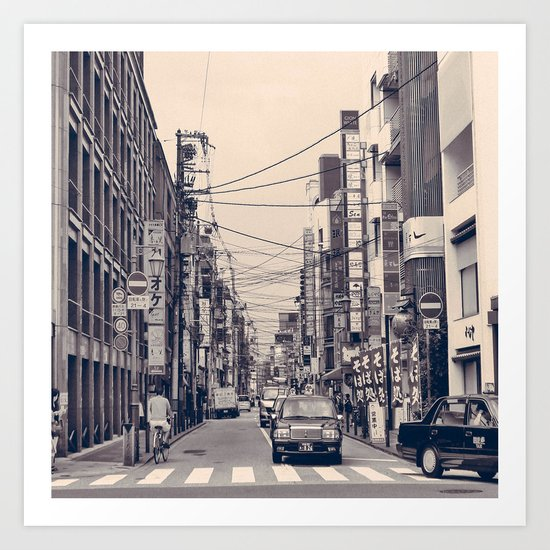 Somewhere In Kyoto Art Print