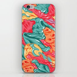 BRAIN WAVES iPhone Skin