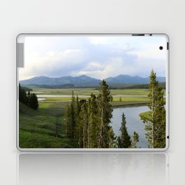 Yellowstone River Valley View Laptop & iPad Skin