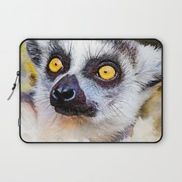 Lemur #lemur #animals Laptop Sleeve