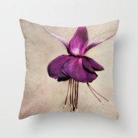 ballerina Throw Pillows featuring ballerina by lucyliu