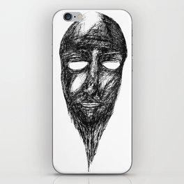 Narmer's mask iPhone Skin