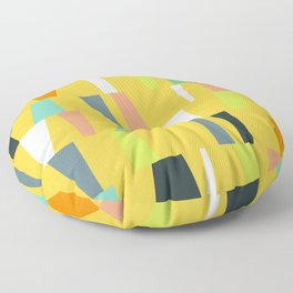 Modern Geometric 39 Floor Pillow