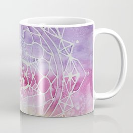 Rainbow Watercolor Mandala Coffee Mug