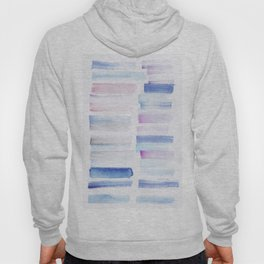 1  | 181101 Watercolour Palette Abstract Art | Lines | Stripes | Hoody