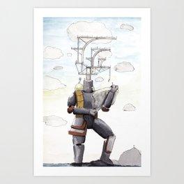 Sky Dwellers Art Print