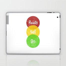 Ready Set Go Laptop & iPad Skin