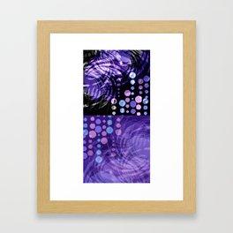 Halftones Framed Art Print