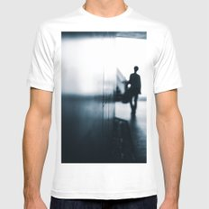 Alloy Mens Fitted Tee White MEDIUM
