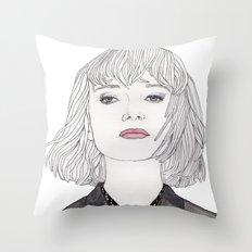 Pastel Girl 2 Throw Pillow