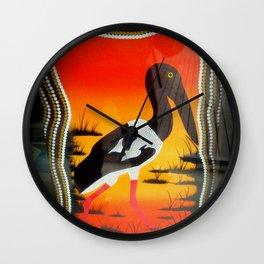 Aborignal Art #1 Wall Clock