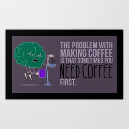 Personal Coffee Cup Art Print