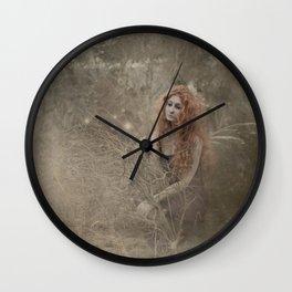 I found her in my garden Wall Clock
