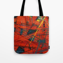C13D Distressed Tote Bag