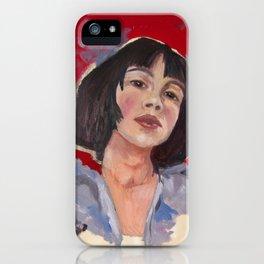 Emma iPhone Case