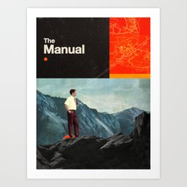 The Manual Art Print