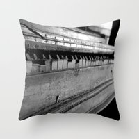 piano Throw Pillows featuring Piano by Susigrafie