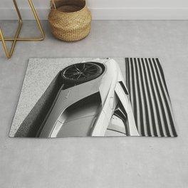 Italian Sports Car Rug