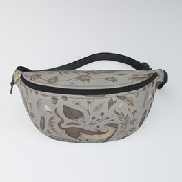 Weasel and Hedgehog Fanny Pack