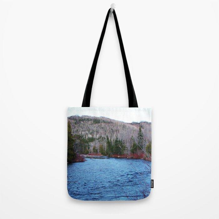 River in Nature Tote Bag