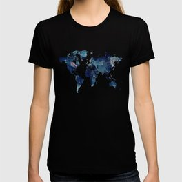 Blue Marble Texture T-shirt