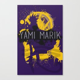 minimal aesthetic yami marik Canvas Print