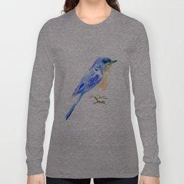 Eastern Bluebird Long Sleeve T-shirt