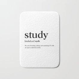 Study Definition Bath Mat