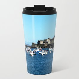 Boats & The Castle Travel Mug