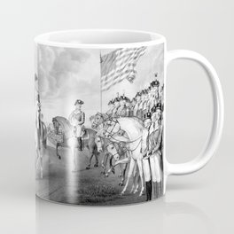 Surrender Of Lord Cornwallis At Yorktown Coffee Mug