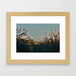 My Backyard Framed Art Print