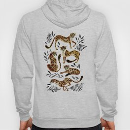 Cheetah Collection – Mocha & Black Palette Hoody