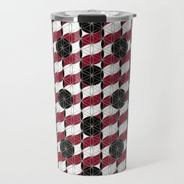 Buttons Pattern Travel Mug