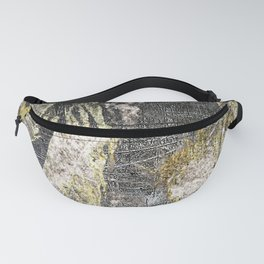 Anguish In Bronze And Copper Fanny Pack