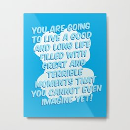 You Cannot Even Imagine Metal Print