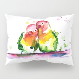 Lovebirds Pillow Sham