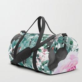 Cats N Roses Duffle Bag