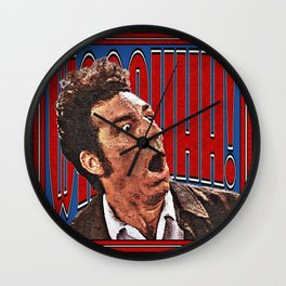 WAAAHHH! Kramer Shock Wall Clock