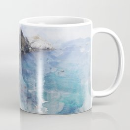 Big Sur Pacific Ocean Print Coffee Mug