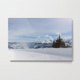 Wunderfull Snow Mountain(s) 8 Metal Print