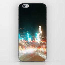 lights lights lights yea iPhone Skin