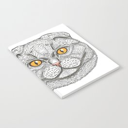 Scottish Fold cat Notebook