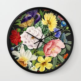 Memories of Tennessee on Black Wall Clock