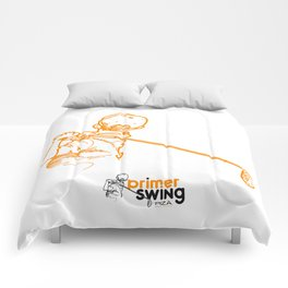 Primer Swing by Piza Golf Design Comforters